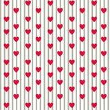 Prosta miłość wzór Obrazy Stock
