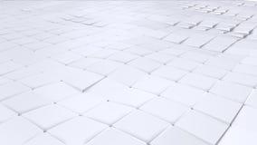Prosta niska poli- 3D falista powierzchnia jako prosty tło Miękki geometryczny niski poli- tło czystego bielu popielaci wieloboki ilustracji