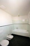 Prosta nowożytna łazienka obraz royalty free