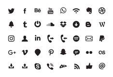 Prosta odosobniona YouTube logo ikona royalty ilustracja