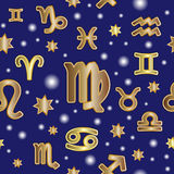 Prosta raster zodiaka ilustracja royalty ilustracja