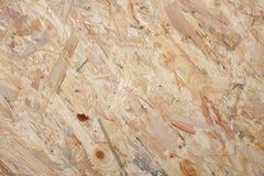 Prostacki drewniany flakeboard tło zdjęcia royalty free