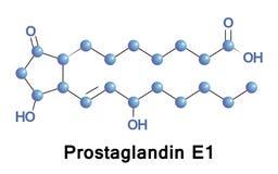 Prostaglandin E1, alprostadil Royalty Free Stock Photography