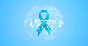 Prostatakrebs-Bewusstseins-Monat - November-Fahne lizenzfreie abbildung