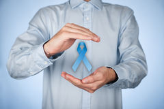 Prostate cancer awareness Royalty Free Stock Images