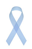 Prostate cancer awareness ribbon Royalty Free Stock Image