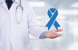 PROSTATE CANCER. Medicine doctor hand working stock photos