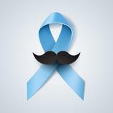 Prostate cancer ribbon awareness Stock Images