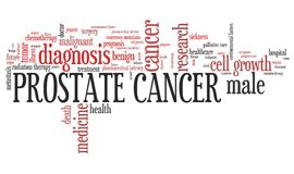 Prostate cancer Royalty Free Stock Photo
