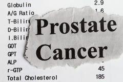 Prostate kanker royalty-vrije stock foto