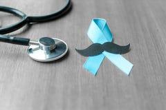 Prostate kankervoorlichting royalty-vrije stock afbeeldingen