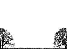 proste drzewa royalty ilustracja