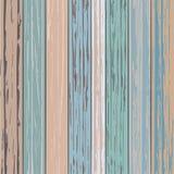 Prostego rocznika deski Drewniany kolor Obrazy Royalty Free