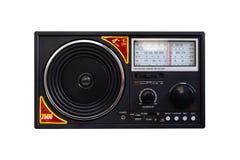 Prostego rocznika spojrzenia Retro odtwarzacz mp3 z FM JEST SW zespołu Radiowym odbiorcą fotografia stock