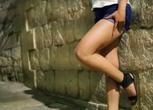 Prostituta fêmea Foto de Stock Royalty Free
