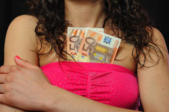 Prostitution concept Stock Image