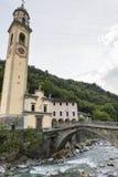 Prosto (Valchiavenna, Italy): old village Stock Images