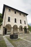 Prosto (Valchiavenna, Italy): palace Stock Photography