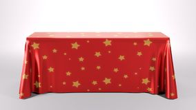 Prostokąta Tablecloth zdjęcia stock