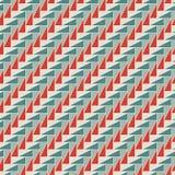 Prostokątni łączy bloki tapetowi Bezszwowy powierzchnia wzoru projekt z częstotliwymi trójbokami Geometryczny motyw ilustracja wektor