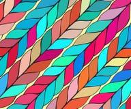 Prosty śmiały wektoru wzór z szerokimi brushstrokes w różnych kolorach Tekstura w modnisia stylu dla sieci, druk ilustracji