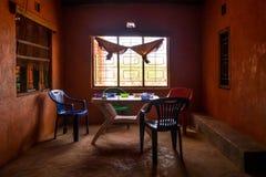 Prosty afrykański łomota wnętrze, Kenja, Afryka Wschodnia Zdjęcie Royalty Free