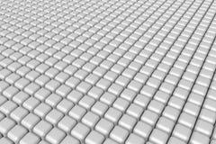 Prosty biały sześcianu tło Zdjęcie Stock