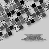 Prosty biznesowy broszurka abstrakta tło Zdjęcie Stock