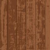 Prosty Brown deski Drewniany wektor Zdjęcia Stock