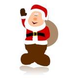prosty Claus wektor Santa Zdjęcia Stock