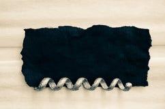 Prosty czarny i biały tło Zdjęcia Stock