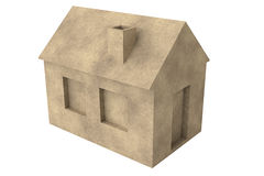 Prosty 3D dom Obraz Royalty Free