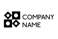 Prosty deseniowy logo Fotografia Stock