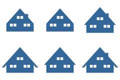 Prosty domu, domu symbol/ Zdjęcie Stock