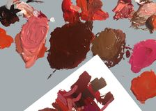 Prosty fotografii tła wizerunek muśnięcie i farba zdjęcie stock