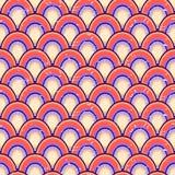 Prosty Geometryczny Bezszwowy wzór Zdjęcie Royalty Free