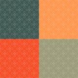 Prosty geometryczny bezszwowy wzoru set Obrazy Royalty Free