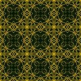 Prosty i elegancki wzór z cienkimi złocistymi liniami Fotografia Stock