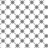 Prosty i pełen wdzięku kwiecisty deseniowy projekta szablon, Elegancki lineart loga projekt, wektorowa ikony ilustracja Nowożytny Obraz Royalty Free