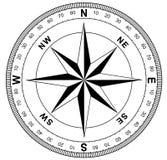Prosty kompas wzrastał Zdjęcie Royalty Free