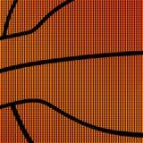 Prosty koszykówki tło Fotografia Stock