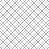 Prosty Kreskowy sześcianu kwadrata siatki ogrodzenia wzoru tło Zdjęcia Stock
