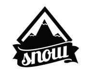 Prosty logo Zdjęcia Stock