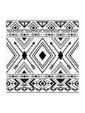 Prosty Navajo wzór Obraz Royalty Free