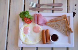 prosty śniadanie Obraz Stock