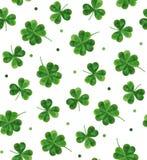 Prosty nowożytny wzór dla St Patrick dnia Zdjęcie Stock