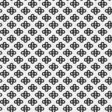 Prosty pixelated wzór z monochromatycznymi geometrycznymi kształtami Zdjęcie Stock