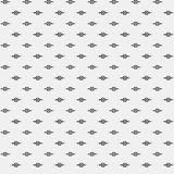 Prosty pixelated wzór z monochromatycznymi geometrycznymi kształtami Fotografia Stock