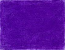 Ręka rysujący purpurowy tło w kredowym pastelu Obraz Stock