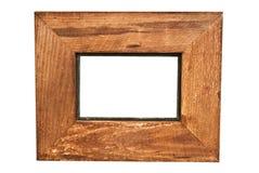 prosty ramowy nieociosany drewna Fotografia Royalty Free